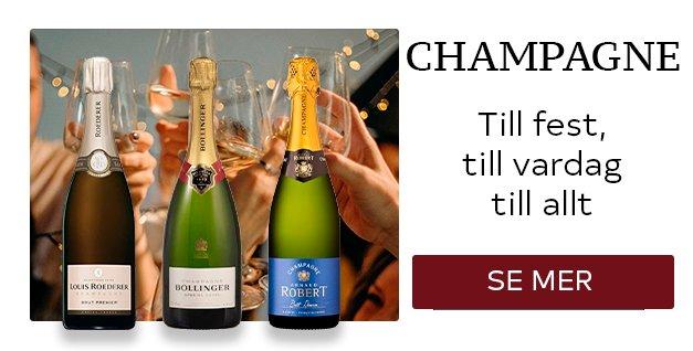 Champagne - til fest, til vardag, till allt