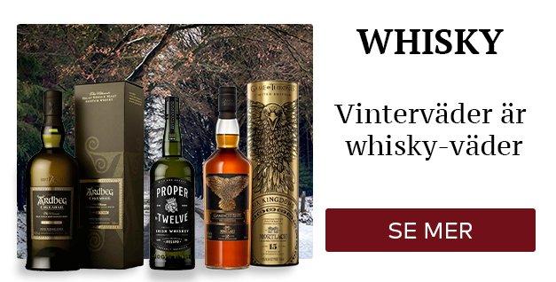 Whisky till vinterväder