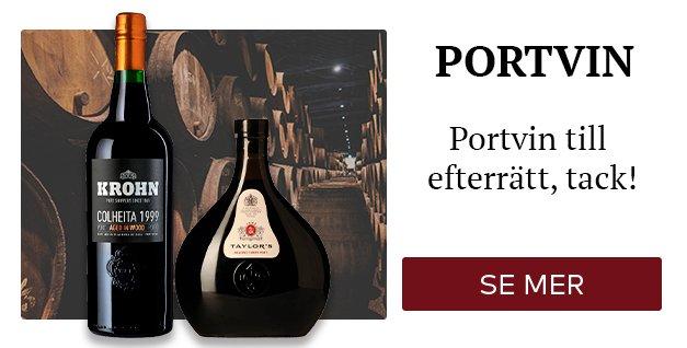 Portvin til efterrät, tack!