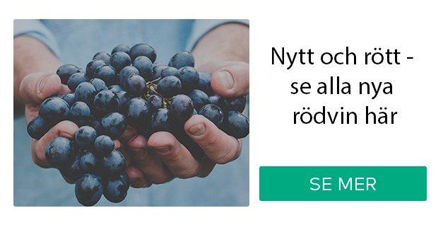 Nytt och rött - se alla nya rödvin här